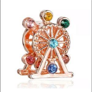 Jewelry - NEW•Rosegold Ferris-wheel DIY charm/bead